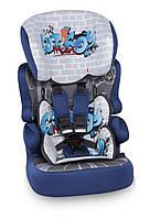 Автокресло детское Bertoni X-Drive Plus Blue Graffiti
