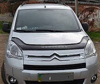 Дефлектор на капот (мухобойки) Citroen Berlingo 2008-
