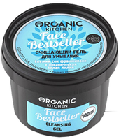 "Organic shop"" Гель д/умывания очищающий ""Face Bestseller"" 100мл"