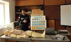 Практикум з першої долікарської допомоги провели педагогічні працівники Навчально-методичного центру цивільного захисту та безпеки... 3