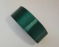 """Атласная лента для декора """"Лиственный зеленый"""" h-2.5см"""