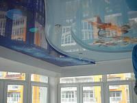 Арт-печать на натяжных потолках от компании Piman Design