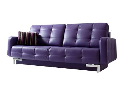 Прямой кожаный диван PLAY 3 (220см)
