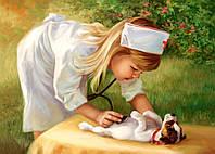 Пазл Маленький доктор 500 деталей В-52004