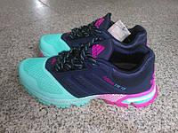 Женские беговые кроссовки Adidas Marathon TR 15 (адидас маратон, адидас марафон) сине-голубые
