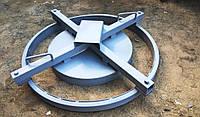 Форма для изготовления колец опорных