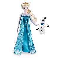 Кукла Эльза с Олафом Холодное сердце дисней 2016 год