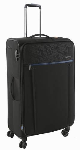Отличный современный чемодан-гигант 4-колесный 108/128 л. Roncato Zero Gravity DLX 4471/51 черный