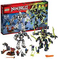 Lego Лего Ninjago Ниндзяго Битва механических титанов 70737