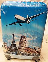 """Валіза пластиковий для подорожей """"Europe"""""""