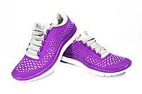 Женские кроссовки Knup, полиуретановая резина, фиолетовые, Р. 39