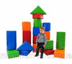 """Мягкий игровой модуль для детей """"Замок рыцаря"""". Конструктор KIDIGO (МВМ) """"Строитель -4"""""""