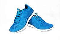 Женские кроссовки Knup, полиуретановая резина, синие, Р. 37 41