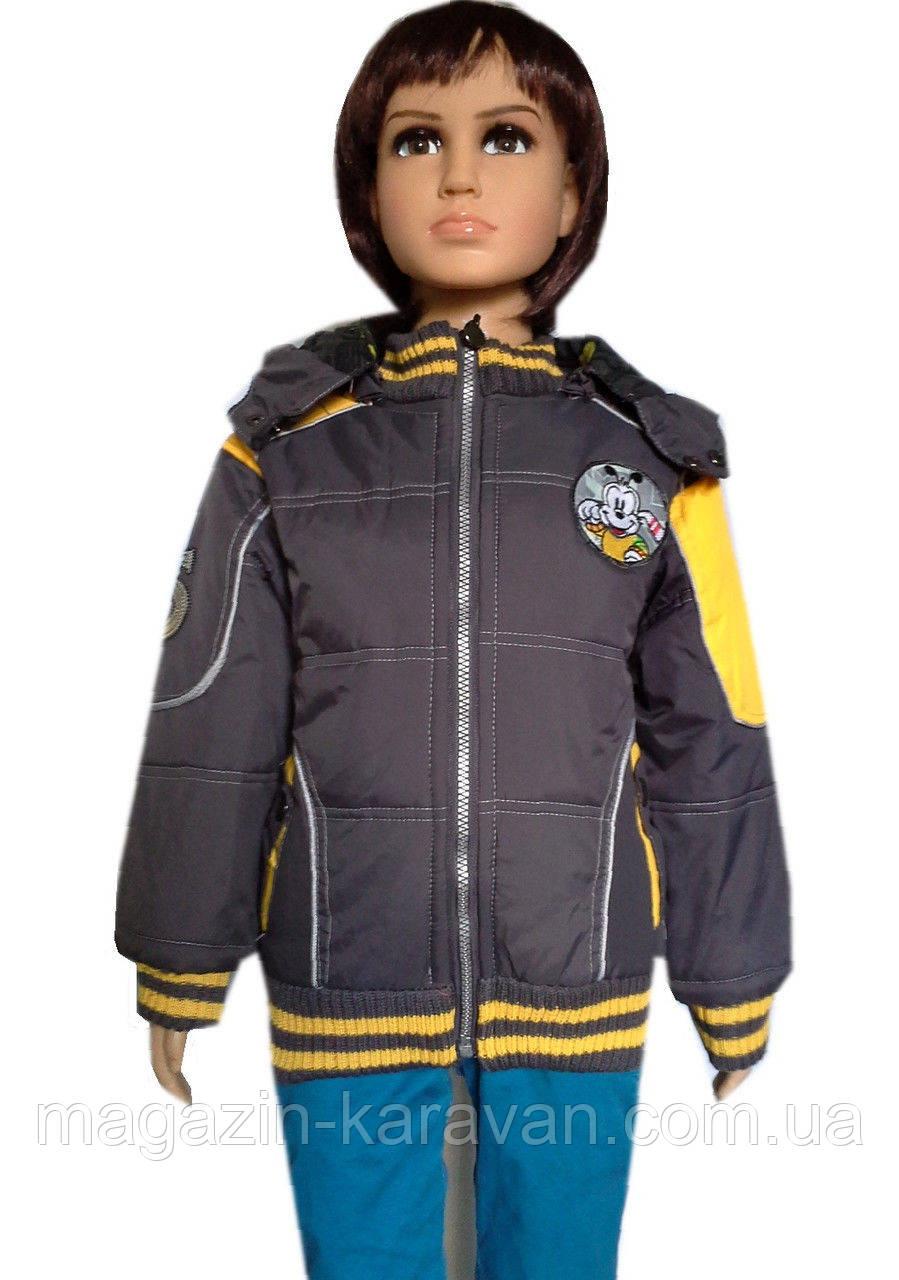 Куртка детская весна-осень мальчик