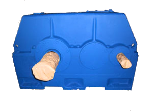 Редукторы зубчатые цилиндрические двухступенчатые горизонтальные Ц2У-355Н