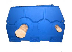 Редукторы зубчатые цилиндрические двухступенчатые горизонтальные Ц2У-400Н