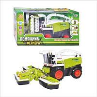 Детская игрушка комбайн «Помощник фермера» M 0345 U/R, в коробке 42*20*17 см, от 3х лет