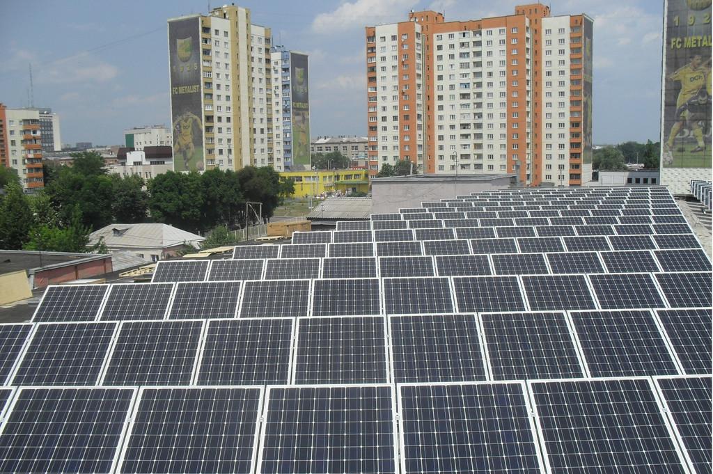 Солнечная электростанция в г. Харьков