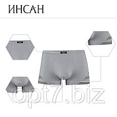 Мужские боксеры стрейч «ИНСАН» L-4XL, фото 3