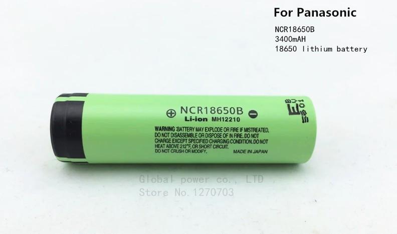 Аккумуляторы 18650 Panasonic 3400мАч