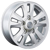 Литые диски Replay Toyota (TY55) W8 R16 PCD5x150 ET2 DIA110.1 silver