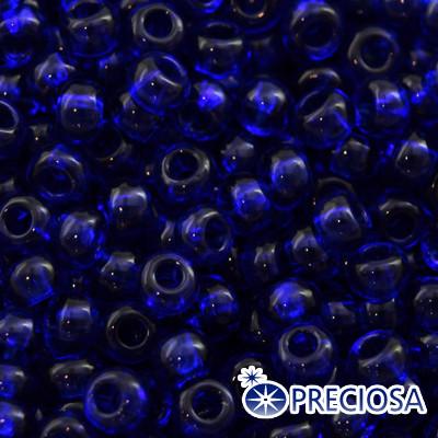 Бисер Preciosa 10/0 цв. 30100, Прозрачный NT, Синий, Круглый, (УТ0001923)