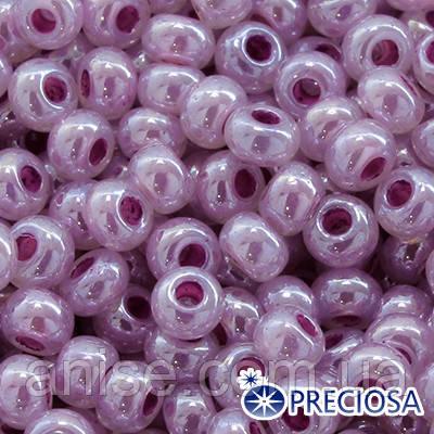 Бисер Preciosa 10/0 цв. 37325, Алебастр AL, Розовый, Круглый, (УТ0003632)
