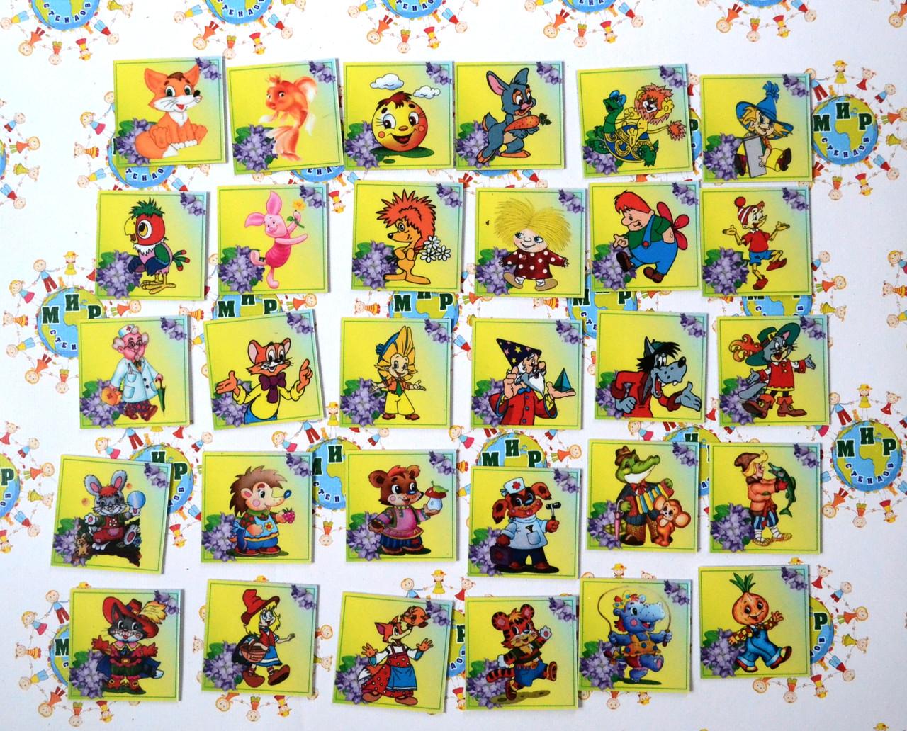 Набор карточек для уголка дежурных Колокольчики
