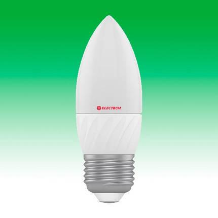 Светодиодная лампа LED 7W 4000K E27 ELECTRUM LC-12 (A-LC-0430), фото 2