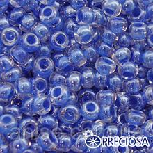 Бисер Preciosa 10/0 цв. 38836, Прозрачный Окраска из Середины CTC, Синий, Круглый, (УТ0001848)