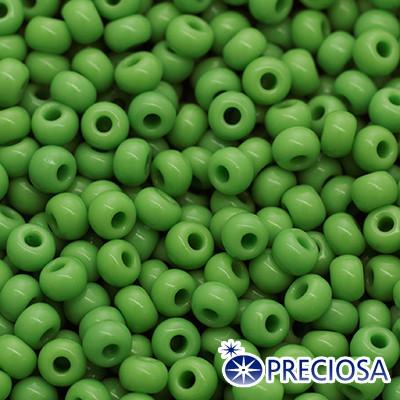 Бисер Preciosa 10/0 цв. 53210, Естественный Непрозрачный NO, Зеленый, Круглый, (УТ0004329)