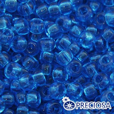 Бисер Preciosa 10/0 цв. 60150, Прозрачный NT, Синий, Круглый, (УТ0001854)