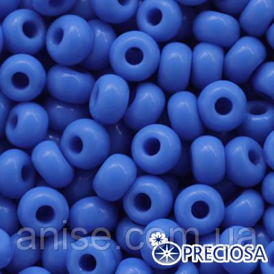 Бисер Preciosa 10/0 цв. 63080, Естественный Непрозрачный NO, Синий, Круглый, (УТ0010264)