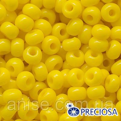 Бисер Preciosa 10/0 цв. 83130, Естественный Непрозрачный NO, Желтый, Круглый, (УТ0001944)