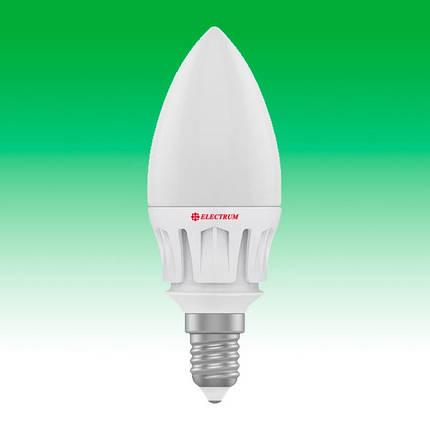 Светодиодная лампа LED 7W 4000K E14 ELECTRUM LC-14 (A-LC-0481), фото 2