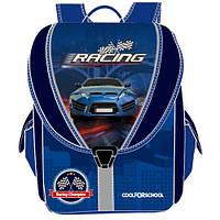 """Ранец школьный  для мальчика """"Blue Car"""" 710"""