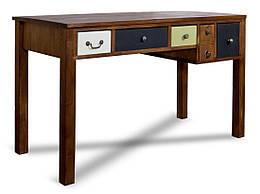 Креативный письменный стол из массива дерева 010
