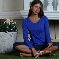 Блуза для кормления Skif Texstile синяя