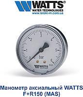 Манометр аксиальный F+R150 (MAS)