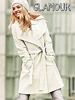 Пальто кашемировое женское Светлая классика