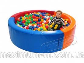 """Сухий басейн ТМ Kidigo """"Коло"""" 2,0 для дитячої кімнати"""