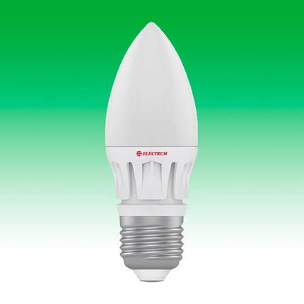 Светодиодная лампа LED 7W 4000K E27 ELECTRUM LC-14 (A-LC-0484), фото 2