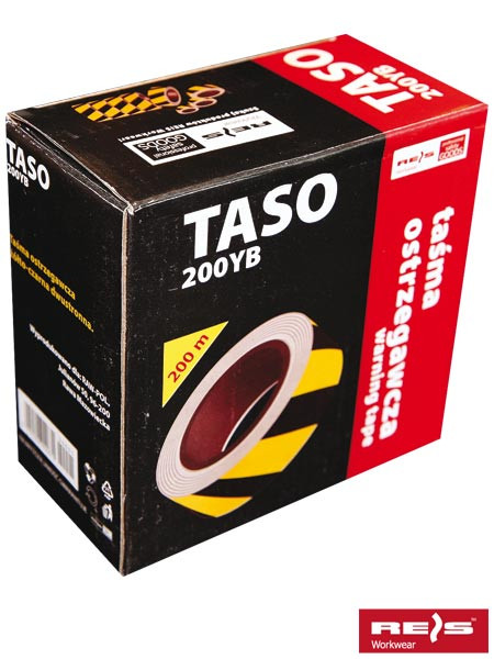Стрічка сигнальна двостороння TASO200 YB