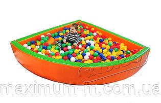 """Сухий басейн Кидиго """"Кут"""" 2 метри"""
