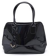 Красивая женская черная лаковая сумка Б/Н art. 1518