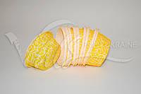 Формы из пергамента с усиленным бортиком, желтые