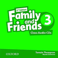 Family and Friends 3 Class Audio CDs (3 Discs), second Edition