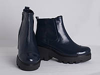 Лаковые осенние  женские ботинки молодежные Украина