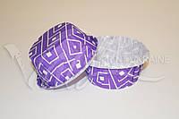 Формочки из пергамента с усиленным бортиком,фиолетовый