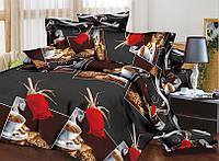 Двуспальное постельное белье Restline 3D Амур, фото 1